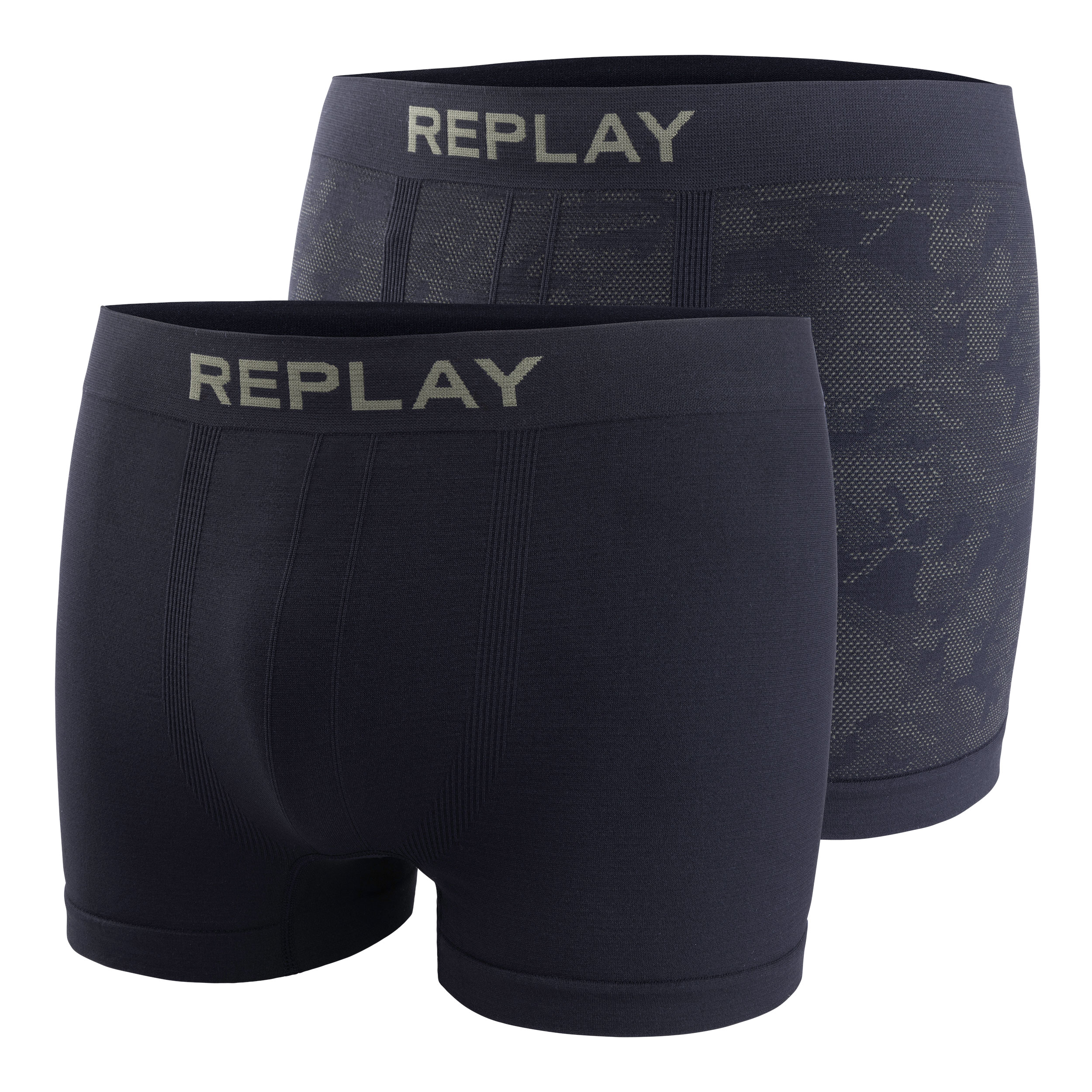 "Replay Hr. Pant ""Seamless Cuff"" 2er Pack"