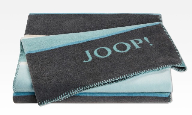 """Joop! Wohndecke """"Bright"""" 150x200cm (versch. Farben)"""