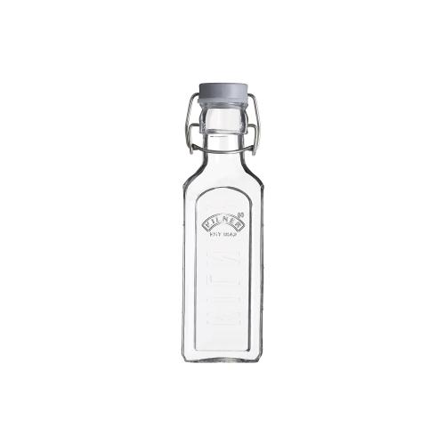 KILNER Drahtbügelflasche eckig, 300 ml