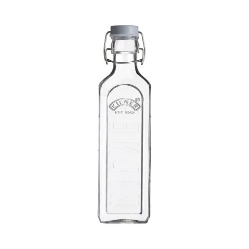 KILNER Drahtbügelflasche eckig, 600 ml