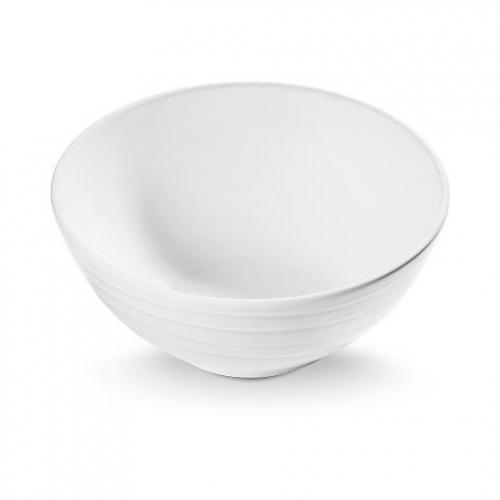 """Gmundner Keramik """"Weissgeflammt"""" Schüssel Ø 23cm"""