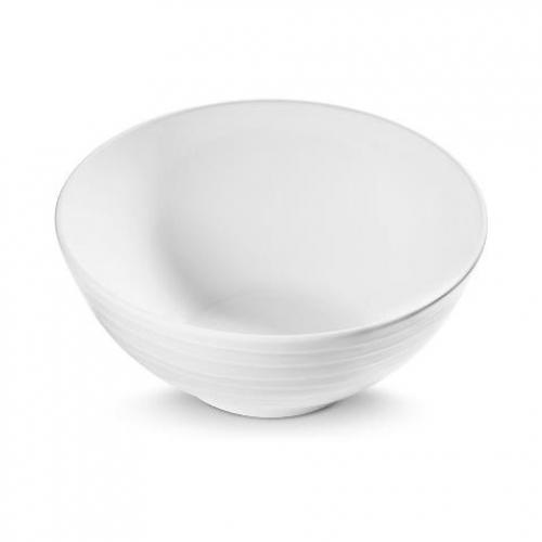 """Gmundner Keramik """"Weissgeflammt"""" Schüssel Ø 27cm"""