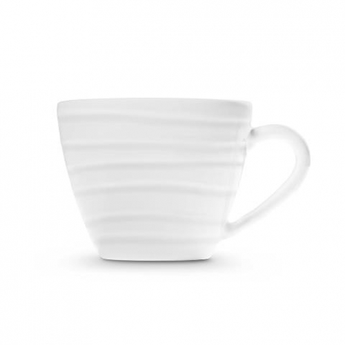 "Gmundner Keramik ""Weissgeflammt"" Kaffeetasse Gourmet  0,2L"
