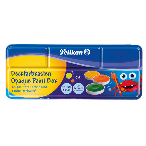 Pelikan Deckfarben Opque Paint Box 12
