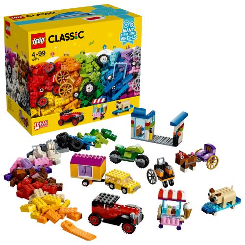 LEGO 10715 CLASSIC - Kreativ-Bauset Fahrzeuge