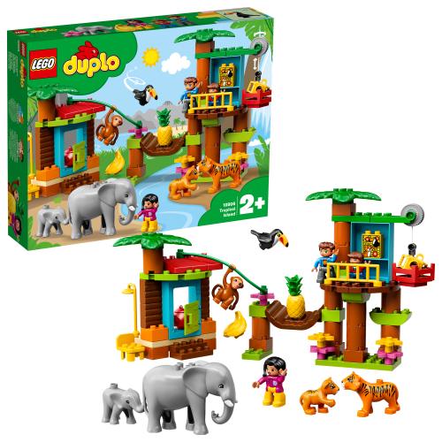 LEGO 10906 DUPLO - Baumhaus im Dschungel