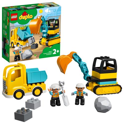 LEGO 10931 DUPLO -  Bagger und Laster