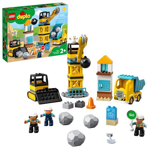 LEGO 10932 DUPLO - Baustelle mit Abrissbirne