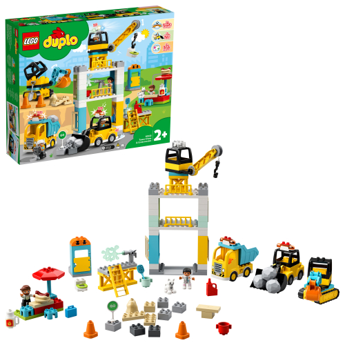 LEGO 10933 DUPLO - Große Baustelle mit Licht und Ton