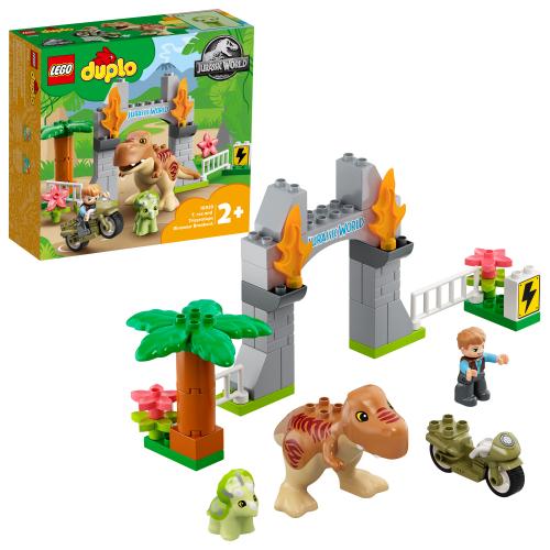 LEGO 10939 DUPLO - Ausbruch des T. rex und Triceratops