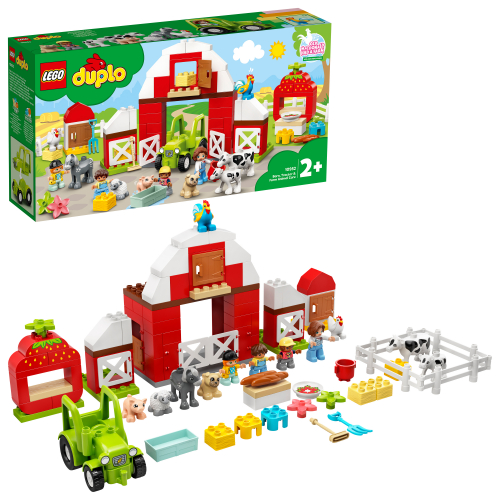 LEGO 10952 DUPLO - Scheune, Traktor und Tierpflege