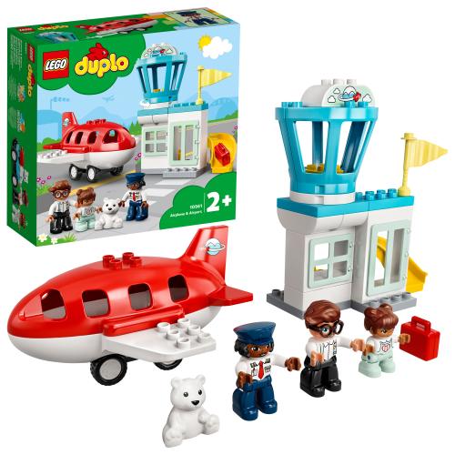 LEGO 10961 DUPLO -  Flugzeug und Flughafen