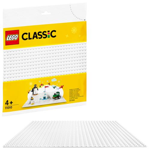 LEGO 11010 CLASSIC -  Weiße Bauplatte