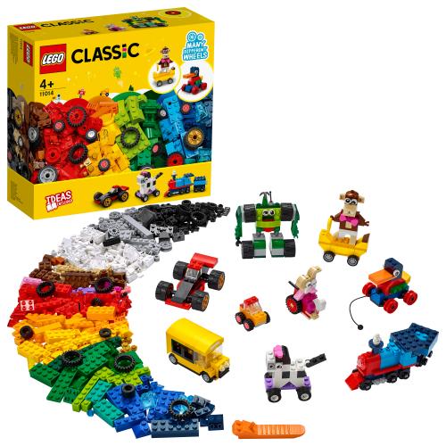 LEGO 11014 Classic - Steinebox mit Rädern