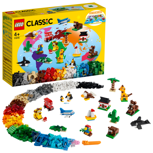 LEGO 11015 CLASSIC - Einmal um die Welt