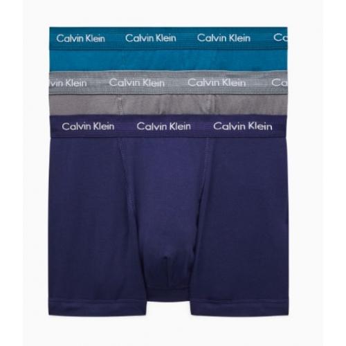 CALVIN KLEIN Trunks Cotton Stretch 3er