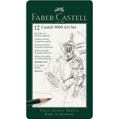 Faber-Castell 119065 Castell 9000 Art Set
