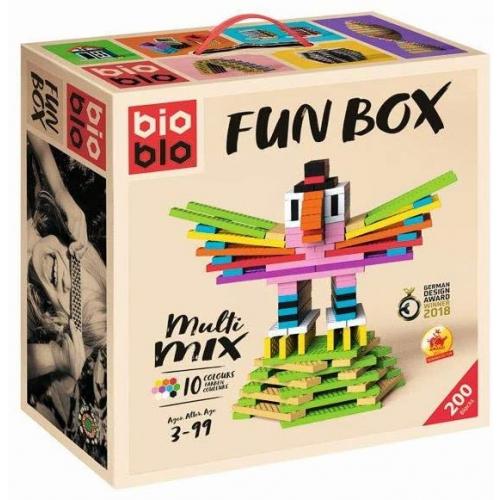 """BIOBLO Fun Box """"Multi-Mix"""" mit 200 Steinen"""