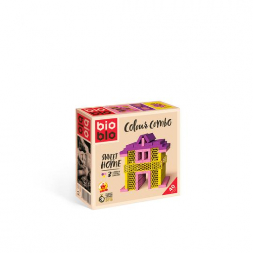 "BIOBLO Colour Combo ""Sweet Home"" mit 40 Steinen"