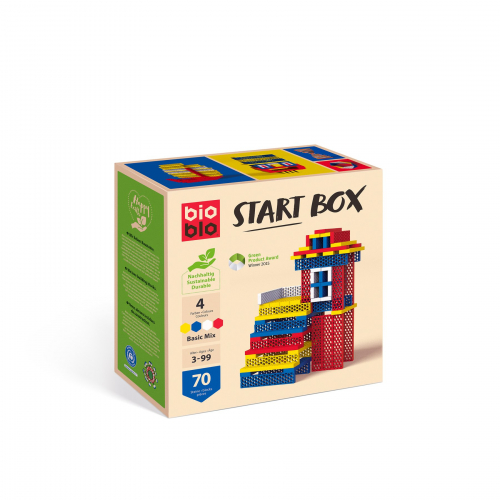 "BIOBLO Start Box ""Basic-Mix"" mit 70 Steinen"