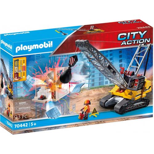 PLAYMOBIL 70442 - Seilbagger mit Bauteil