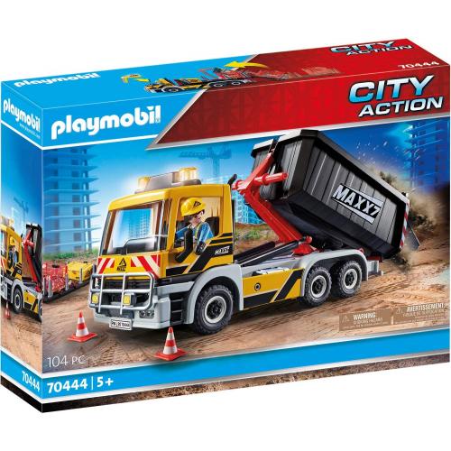 PLAYMOBIL 70444 - LKW mit Wechselaufbau