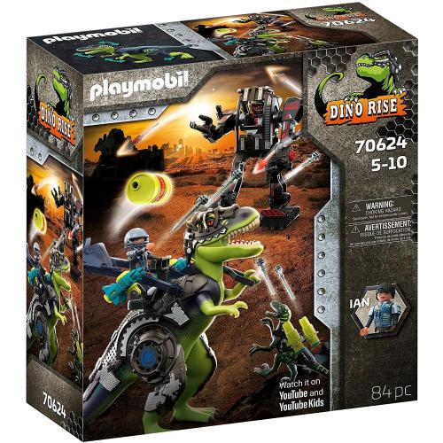 PLAYMOBIL 70624 - T-Rex: Gefecht der Giganten