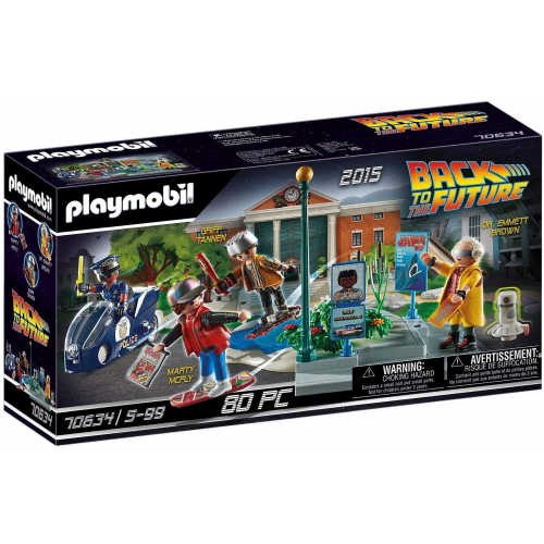 PLAYMOBIL 70634 - Back to the Future Part II Verfolgung mit Hoverboard