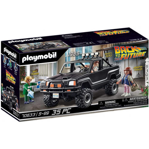 PLAYMOBIL 70633 - Back to the Future Marty's Pick-up Truck