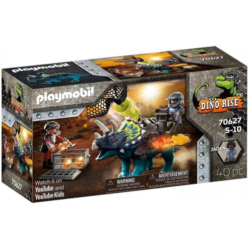 PLAYMOBIL 70627 - Triceratops: Randale um die legendären Steine