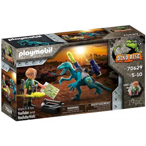 PLAYMOBIL 76029 - Uncle Rob: Aufrüstung zum Kampf