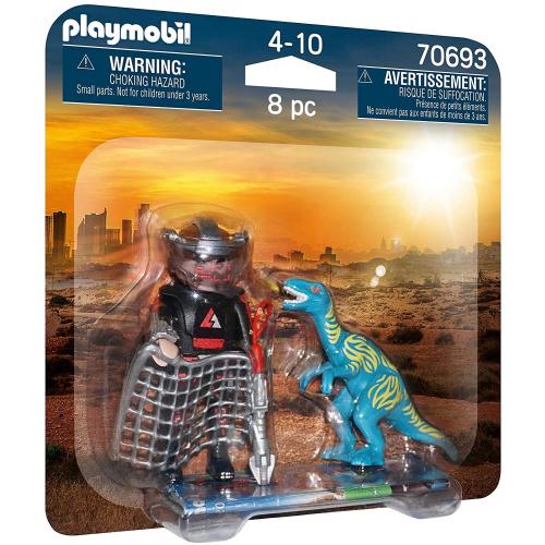PLAYMOBIL 70693 - DuoPack Jagd auf Velociraptor