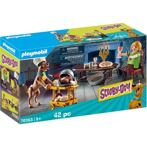 PLAYMOBIL 70363 - SCOOBY-DOO! Abendessen mit Shaggy