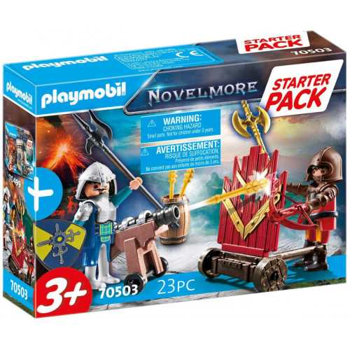 PLAYMOBIL 70503 - Starter Pack Novelmore Ergänzungsset