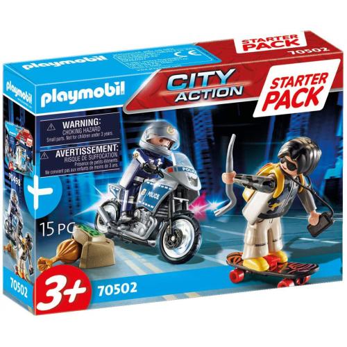 PLAYMOBIL 70502 - Starter Pack Polizei Ergänzungsset