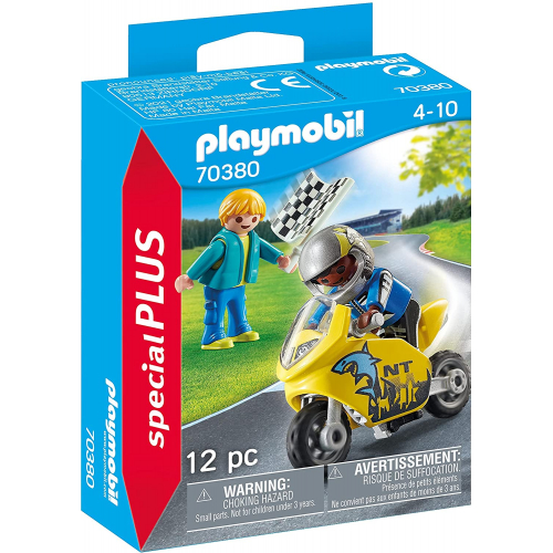 PLAYMOBIL 70380 - Jungs mit Racingbike