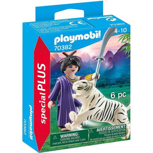 PLAYMOBIL 70382 - Asiakämpferin mit Tiger
