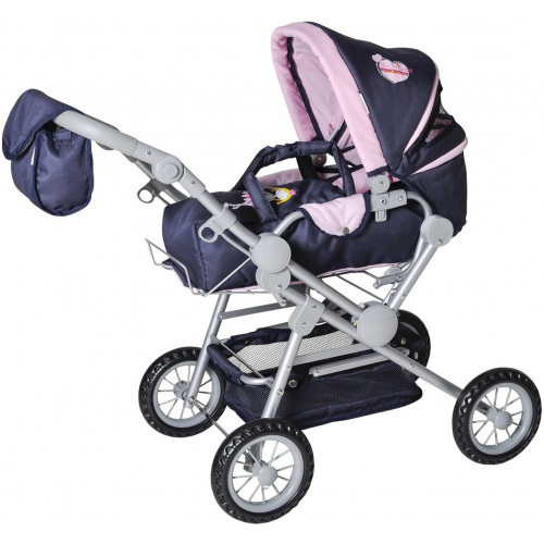 """KNORR TOYS  Puppenwagen Twingo A - """"My Little Princess"""""""