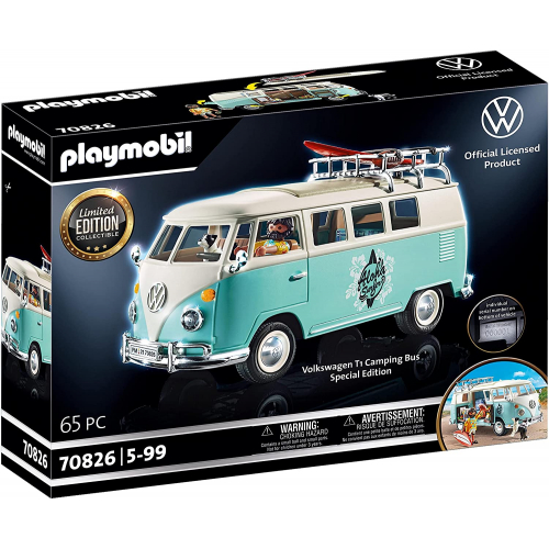 PLAYMOBIL 70826 - Volkswagen T1 Camping Bus - Special Edition