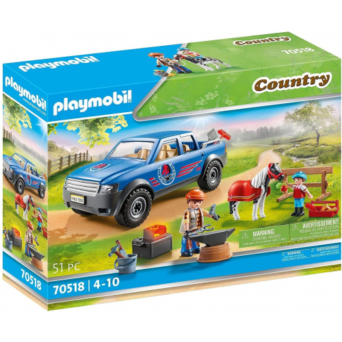 PLAYMOBIL 70518 - Mobiler Hufschmied