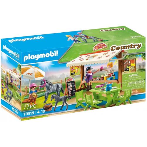 PLAYMOBIL 70519 - Pony - Café