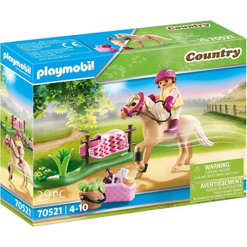 "PLAYMOBIL 70521 - Sammelpony ""Deutsches Reitpony"""