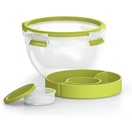 EMSA CLIP & GO Salatbox XL mit Einsätzen