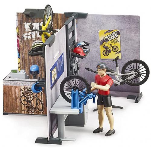 BRUDER bworld Fahrrad Shop