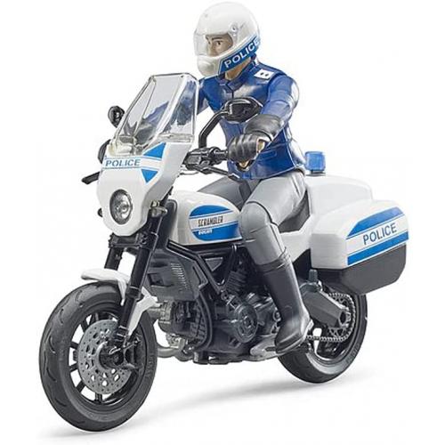 BRUDER bworld Scrambler Ducati Polizeimotorrad