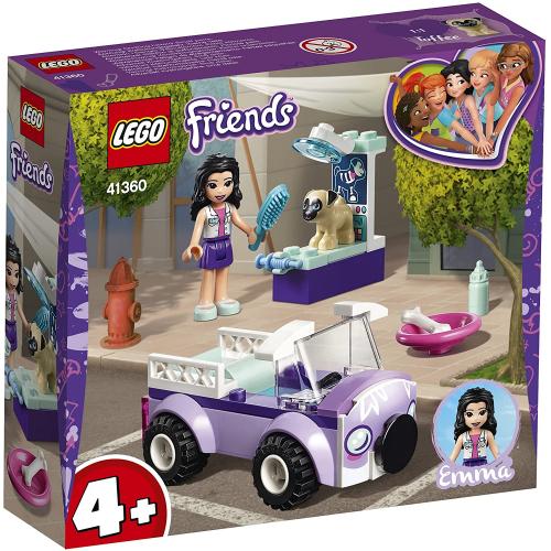 LEGO 41360 Friends - Emmas Mobile Tierarztpraxis