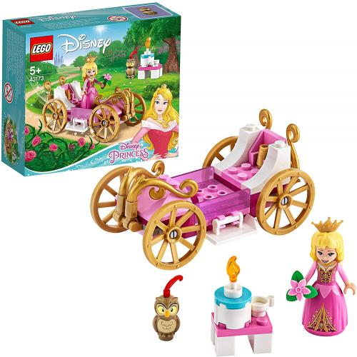 LEGO 43173 DISNEY - Auroras königliche Kutsche