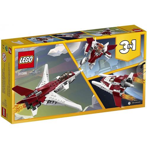 LEGO 31086 CREATOR - Flugzeug der Zukunft