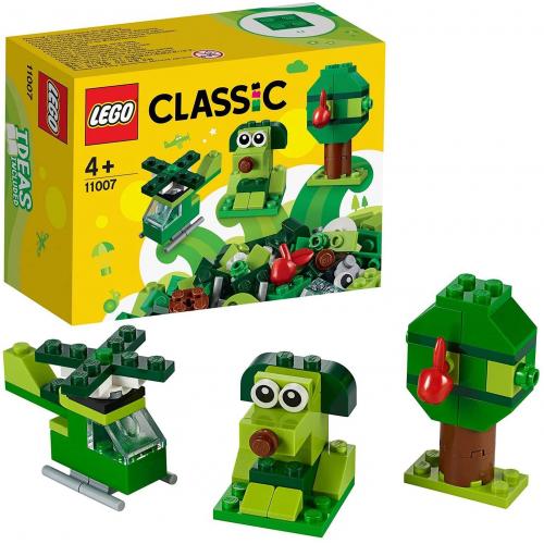 LEGO 11007 Classic - Grünes Kreativ-Set