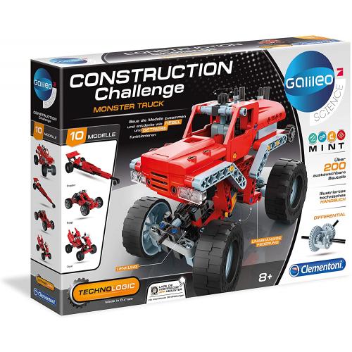CLEMENTONI Construction Challenge -   Monster Truck